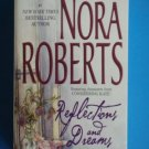 Nora Roberts REFLECTIONS AND DREAMS Paperback Romance Suspense Silhouette location101