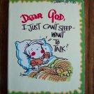 DEAR GOD I Just Can't Sleep Want To Talk ? Dear God Kids Series loc8