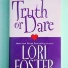 Lori Foster TRUTH OR DARE Zebra Contemporary Romance loc8