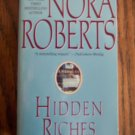 Nora Roberts HIDDEN RICHES Paperback Romance Suspense Jove Fiction