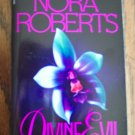Nora Roberts DIVINE EVIL Romance Suspense Bantam Books Fiction