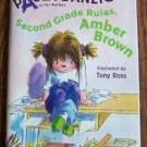 SECOND GRADE RULES AMBER BROWN Paula Danziger Childrens Early Reader Scholastic