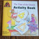 Mouse Prints THE TIME OF THE CHURCH ACTIVITY BOOK PENTECOST Children's Books
