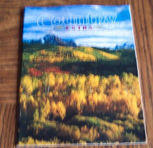 COUNTRY EXTRA September 1996 Back Issue Outdoor Magazine
