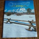 COUNTRY EXTRA January 1997 Back Issue Outdoor Magazine