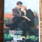 WHEN A MAN LOVES A WOMAN Andy Garcia Meg Ryan Drama VHS Movie