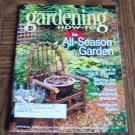 GARDENING How To September October 2001 Back Issue Magazine All Season Garden