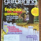 GARDENING How To November December 2006 Back Issue Magazine Fences for Every Garden