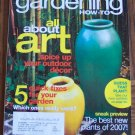 GARDENING How To January February 2007 Back Issue Magazine All About Art