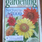 GARDENING How To January February 2000 Back Issue Magazine Pruning Primer