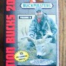 Buckmasters Action Bucks of 2000 Volume II Bow Shotgun Muzzleloader Rifle Hunts VHS Video