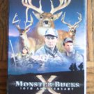 Monster Bucks X Volume Two 10th Anniversary Bow Shotgun Muzzleloader Rifle Hunts VHS Video