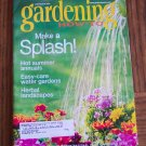 GARDENING How To July August 2001 Back Issue Magazine Hot Summer Annuals