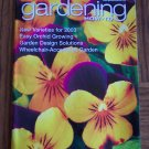 GARDENING How To January February 2003 Back Issue Magazine WheelChair Accessible Garden