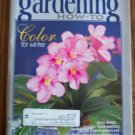 GARDENING How To November December 1999 Back Issue Magazine Color For Winter