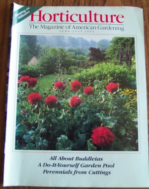 HORTICULTURE June July 1993 Back Issue Magazine Gardening