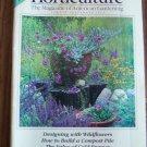 HORTICULTURE August September 1993 Back Issue Magazine Gardening