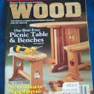 Better Homes and Gardens WOOD June 1996 Issue #88 Back Issue Magazine Woodworking