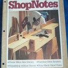 ShopNotes Tips Tools Techniques Vol 2 Issue #11 Back Issue Magazine Woodworking