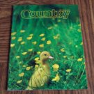 COUNTRY April May 1989 Back Issue Outdoor Magazine