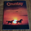 COUNTRY February March 1989 Back Issue Outdoor Magazine
