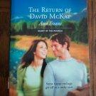 The Return Of David McKay Ann Evans Harlequin Superromance  Romance Novel