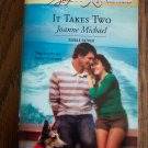 It Takes Two Joanne Michael Harlequin Superromance  Romance Novel