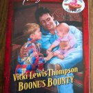 Vicki Lewis Thompson Boone's Bounty Temptation Harlequin Romance 788 June 2000