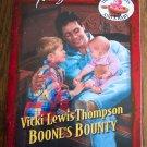 Vicki Lewis Thompson Boone's Bounty Temptation Harlequin Romance 788 June 2000