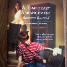 A Temporary Arrangement Roxanne Rustand April 06 1362 Harlequin Superromance  Romance Novel