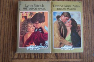 Dream Maker Donna Vitek Mistletoe Magic Lynn Patrick Candlelight Ecstacy Romance Novel