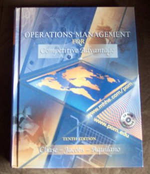 operations management for competitive advantage Free essay: running head: operations management for competitive advantage pizza store layout simulation laretha taylor university of phoenix ops/571.