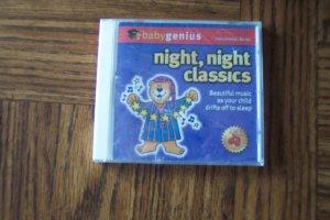 Baby Genius Night Night Classics Instrumental Series ~ Music CD