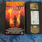 Backdraft Kurt Russell William Baldwin Scott Glenn Robert DeNiro Vhs Tape Video