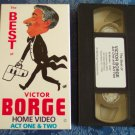 The Best of Victor Borge Home Video Act One & Two Comedy Vhs Tape Video