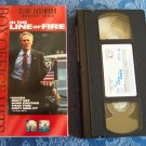In The Line Of Fire Clint Eastwood John Malkovich Rene Russo Box Office Hits VHS Video Tape