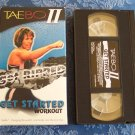 TAEBO II Get Ripped Get Started Workout ~ Tae Bo Fitness Vhs Tape Video