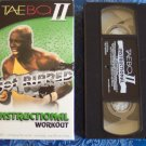 TAEBO II Get Ripped Instructional Workout ~ Tae Bo Fitness Vhs Tape Video