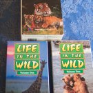 Life In The Wild A Questar Video 2 Tape Set Wildlife Family Childrens Vhs Tape Video 2M