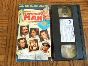 Company Man Alan Cumming Anthony LaPaglia Comedy VHS Movie 2M