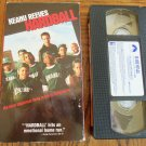 Keanu Reeves Hardball Diane Lane D.B. Sweeney Family VHS Movie 2M