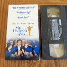 Mr Holland's Opus Richard Dreyfuss Hollywood Pictures Home Video Family VHS Movie 2M