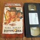 Lightning Jack Paul Hogan Cuba Gooding Jr Beverly D'Angelo Comedy VHS Movie 2M