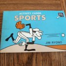Educative Materials For Fun Activity Cards SPORTS Jim Ryono Home School Elementary Grades
