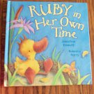 Ruby In Her Own Time Jonathan Emmett Rebecca Harry Children&#39;s Storybook