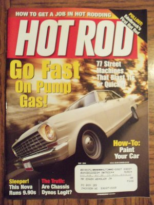 Hot Rod May 2004 Edelbrock's First Hot Rod Back Issue Magazine