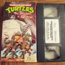 Teenage Mutant Ninja Turtles The Shredder Is Splintered Vhs Tape Video 1M