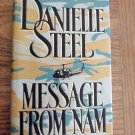 Danielle Steel Message From Nam Hardcover Romance Suspense Fiction 1B