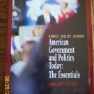American Government and Politics Today: The Essentials 2006-2007 Edition Textbook location41