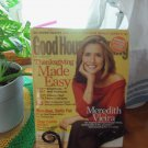Good Housekeeping November 2007 Meredith Vieira Back Issue Magazine location50